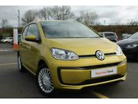 2017 Volkswagen UP 1.0 Move up! 3dr Hatchback Petrol Manual