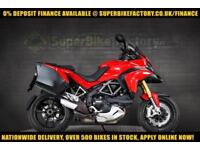 2015 10 DUCATI MULTISTRADA 1200 S TOURING 1200CC 0% DEPOSIT FINANCE AVAILABLE