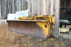 Grader wing c/w electric controls