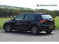 2017 Volkswagen Golf SE 1.4 TSI 125PS 7-speed DSG 5 Door Petrol black Semi Auto