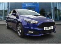 2018 Ford Focus 2.0T EcoBoost ST-3 5dr with Full Leather Interior, Heated Front