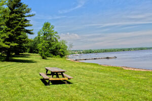 Cottage Rental with Hot Tube - New Brunswick Getaway on Lake