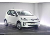 2017 Volkswagen UP Petrol white Semi Auto