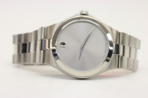Movado Museum Stainless Steel Swiss Watch (#16015)