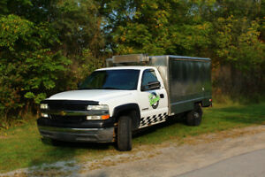2002 Chevrolet Silverado 2500 Coffe/Catering Truck (No Route)