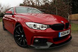 BMW 420 2.0TD ( 184bhp ) Auto d M Sport M PERFORMANCE BMW WARRANTY MASSIVE SPEC