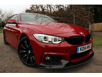 BMW 420 2.0TD ( 184bhp ) Auto d M Sport M PERFORMANCE BMW WARRANTY MASSIVE SPEC