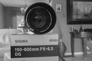 Sigma Contemporary 150-600mm Canon Mount
