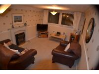 Immaculate and spacious, fully furnished two bedroom flat on first floor