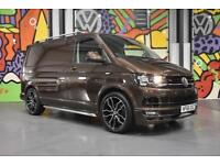 VW TRANSPORTER T6 T28 SWB 150 PS HIGHLINE P/VAN SPORTLINE PK CHESTNUT BROWN