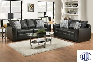 Brand NEW Yahtzee Onyx Sofa & Loveseat! Call 506-474-4444!
