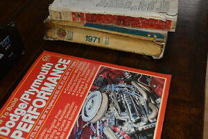 1969 Dodge and 1971 Plymouth Workshop Manuals