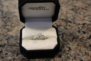 Canadian Diamond Engagement Ring, Wedding and Anniversary Band