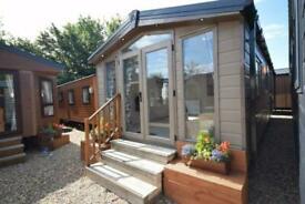 NEW Sunrise Micro Lodge 33x12 | 2 bed Mobile Home | Winterised Log Cabin
