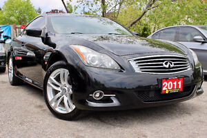2011 INFINITI G37X NAVIGATION PACKAGE COUPE - NO ACCIDENTS !