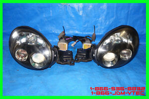 JDM Subaru Impreza WRX STi Version 7 Headlights 2002 2003 HID