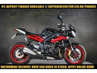 2016 16 TRIUMPH STREET TRIPLE 675 RX 675CC 0% DEPOSIT FINANCE AVAILABLE