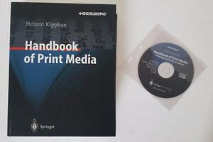 Handbook of Print Media (Hardcover Text + CD)