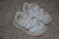 Size 5 Toddler Girls Nike running shoes