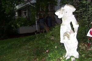 ♥VINTAGE OUTDOOR STATELY LADY WELSFORD LAWN STATUE♥