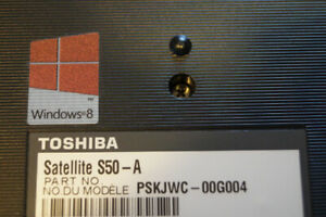 Toshiba Satellite S50-A Laptop