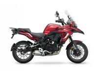 Benelli TRK502 500cc Adventure touring enduro supermoto 500cc motorcycle bike