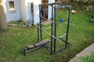 Power Rack and Bench Press