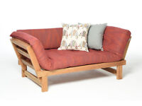 Futon Oak Switch Sofa and Day Bed