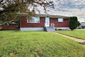 Updated bungalow is centrally located walking distance to NBCC