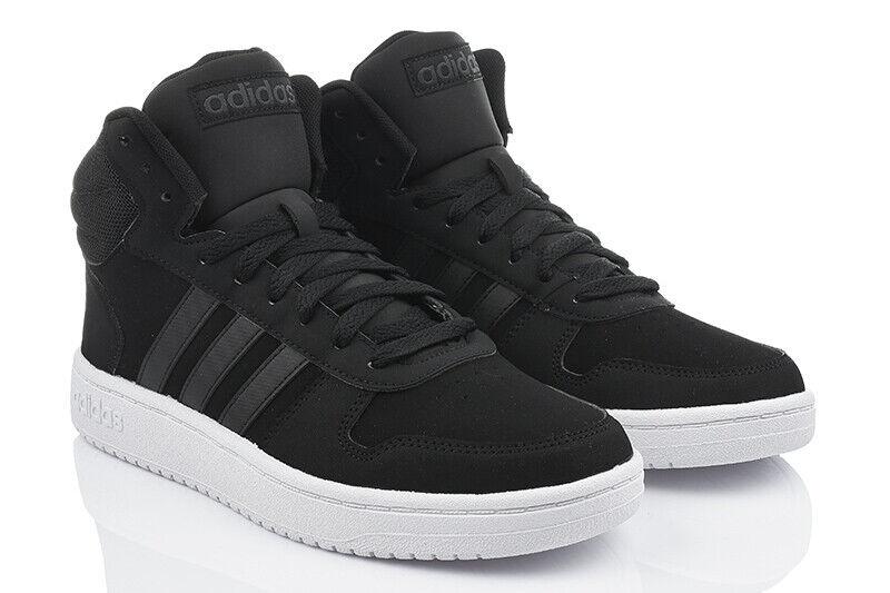 107b6a5a49 ADIDAS HOOPS 2.0 MID Herrenschuhe Turnschuhe High-Top Sneaker DB0113 Neu  Model *