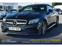 2017 Mercedes-Benz E-CLASS 2.0 E 220 D AMG LINE 2d 192 BHP Convertible Diesel Au