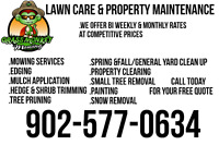 lawn mowing & property maintenance