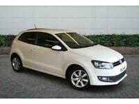 2012 Volkswagen Polo 1.2 70 Match 3Dr Manual Hatchback Petrol Manual