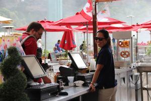 Food & Beverage Counter Server