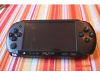 PSP-E1003 (Street) Charcoal Black Good condition