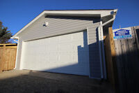 Calgary Garage Builder, Professional, Full Package, Best Price