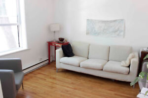 Spacious 1 bedroom with den -Month of July Sublet -