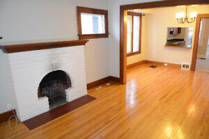 Cathedral character home with 3 bed 2 baths finished basement