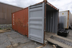 Older Shipping Container 20ft x 8ft x 8' 6inch