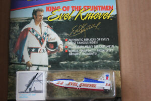EVEL KNIEVEL X-2 SKY CYCLE 1:64 Scale (VIEW OTHER ADS)