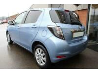 2014 BLUE TOYOTA YARIS 1.5 HYBRID ICON PLUS AUTO 5DR CAR FINANCE FR £145 PCM