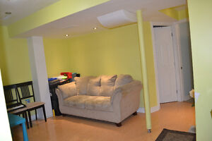 2 Bedroom nice and bright  Basement Apartment for Rent