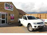 2014 MITSUBISHI L200 DI-D 134 4X4 4LIFE CLUB CAB PICK UP DIESEL