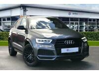 2018 Audi Q3 1.4T FSI Black Edition 5dr S Tronic Auto Estate Petrol Automatic