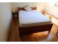 Warren Evans double bed, mattress and storage