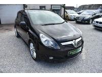Vauxhall Corsa 1.4i 16v SXi 5 DOOR BLACK 2009 MODEL +BEAUTIFUL+