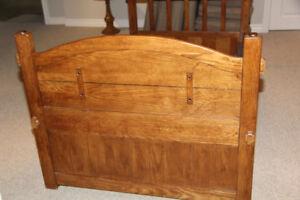 Single bed frame &  head & footboard