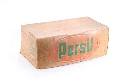 Antiguo Cartón Persil Caja Caja Detergente Embalaje Original Caja de Cartón