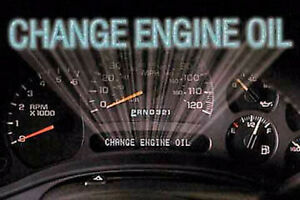 Time for an oil change?