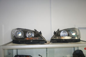 Acura RL hid headlights black housing 2005-2008